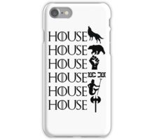 The North - Sworn to the Starks iPhone Case/Skin