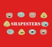 Shapesters - The Kids' Picture Show Kids Tee