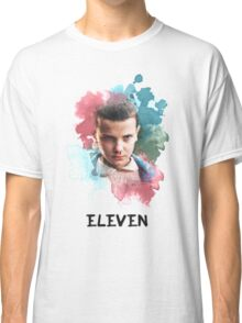 Eleven - Stranger Things - Canvas Classic T-Shirt