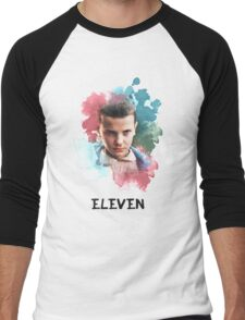 Eleven - Stranger Things - Canvas Men's Baseball ¾ T-Shirt