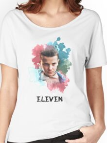 Eleven - Stranger Things - Canvas Women's Relaxed Fit T-Shirt