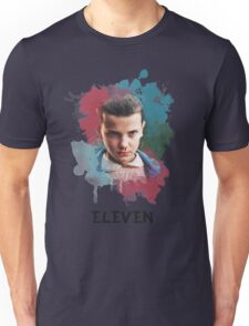 Eleven - Stranger Things - Canvas Unisex T-Shirt