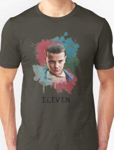 Eleven - Stranger Things - Canvas Unisex T-Shirt