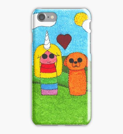 Jake and Lady iPhone Case/Skin