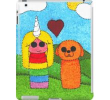 Jake and Lady iPad Case/Skin