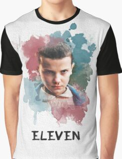 Eleven - Stranger Things - Canvas Graphic T-Shirt