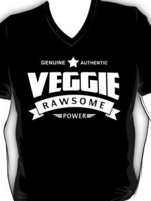 Genuine Authentic Veggie Rawsome Power T-Shirt