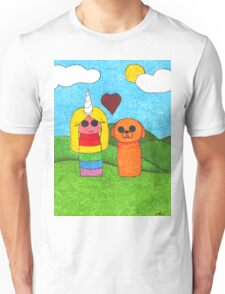 Jake and Lady Unisex T-Shirt