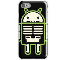 Android skeleton iPhone Case/Skin