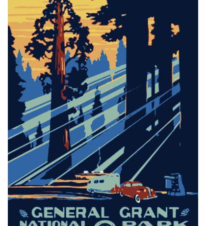 General Grant National Park USA Sticker