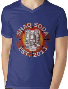 Shaq Soda Mens V-Neck T-Shirt