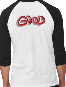 Good, Evil, illusion,  Right, Wrong, Optical illusion, Visual illusion, Men's Baseball ¾ T-Shirt