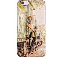 Playing: Years Ago... #001 iPhone Case/Skin