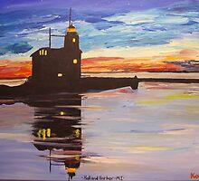 Lighthouse Sunset by Bryan Kopeck