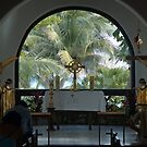 Altar amid Palms by Barry Doherty