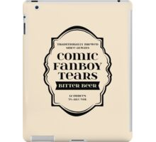 Comic Fanboy Tears Bitter Beer - Bottle Label Design iPad Case/Skin