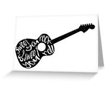 Sweet You Rock Greeting Card