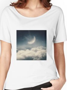 The swinging moon Women's Relaxed Fit T-Shirt