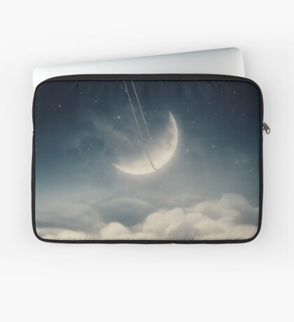 The swinging moon Laptop Sleeve