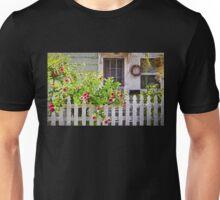 Shabby Chic Beach Cottage   Unisex T-Shirt