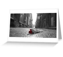 Abandoned Rose Greeting Card