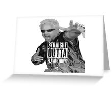 guy fieri Greeting Card