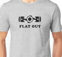 Subaru Flat Out Unisex T-Shirt
