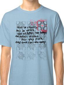 Companion Cube graffiti Classic T-Shirt