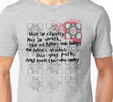 Companion Cube graffiti Unisex T-Shirt