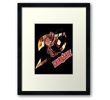 Natsu Dragneel  Framed Print