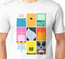 Minimal Adventure time Vol:1 Unisex T-Shirt