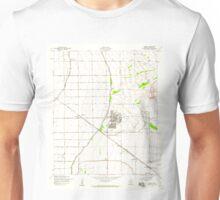 USGS TOPO Map Arizona AZ Higley 311753 1956 24000 Unisex T-Shirt