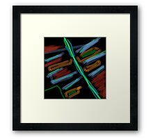 20160917 colors on the fly no. 1 Framed Print