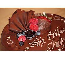 Happy Birthday Andre Photographic Print