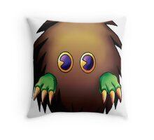kuriboh yugioh Throw Pillow