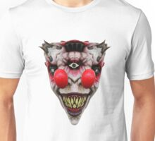 Two Nosed Clown Unisex T-Shirt