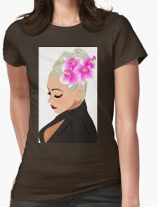 Xtina Illustrated Womens Fitted T-Shirt