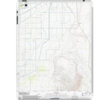 USGS TOPO Map Arizona AZ Parker SE 20111206 TM iPad Case/Skin