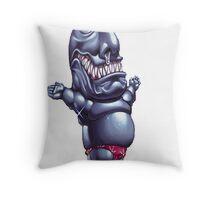 ojama black yugioh Throw Pillow