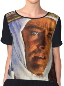Peter O'Toole as Lawrence of Arabia Chiffon Top