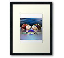 wellknown vapor Framed Print