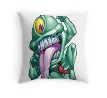 ojama green yugioh Throw Pillow