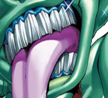 ojama green yugioh Sticker