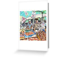 The Nutty Boys From Turre Greeting Card