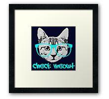 Check Meowt - Funny Saying Framed Print