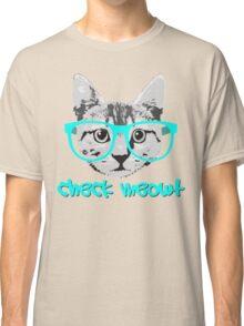 Check Meowt - Funny Saying Classic T-Shirt
