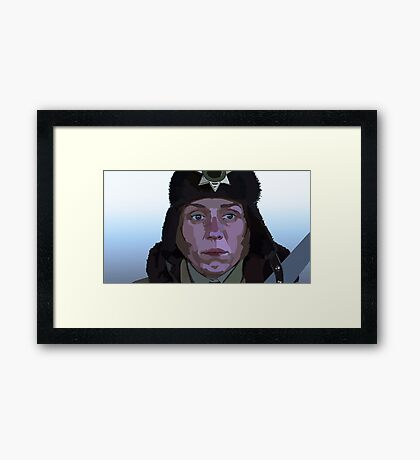 Marge from Fargo Framed Print