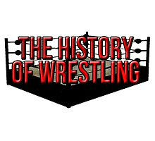 The History Of Wrestling Official T-Shirt by HistoryOfWWE