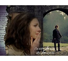 Claire thinking of Jamie at Lallybroch Photographic Print