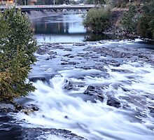 Falls in Spokane by aussiedi